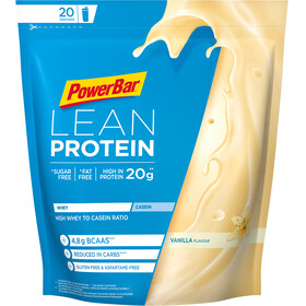 PowerBar Lean Protein Sports Nutrition Vanilla 500g yellow/blue